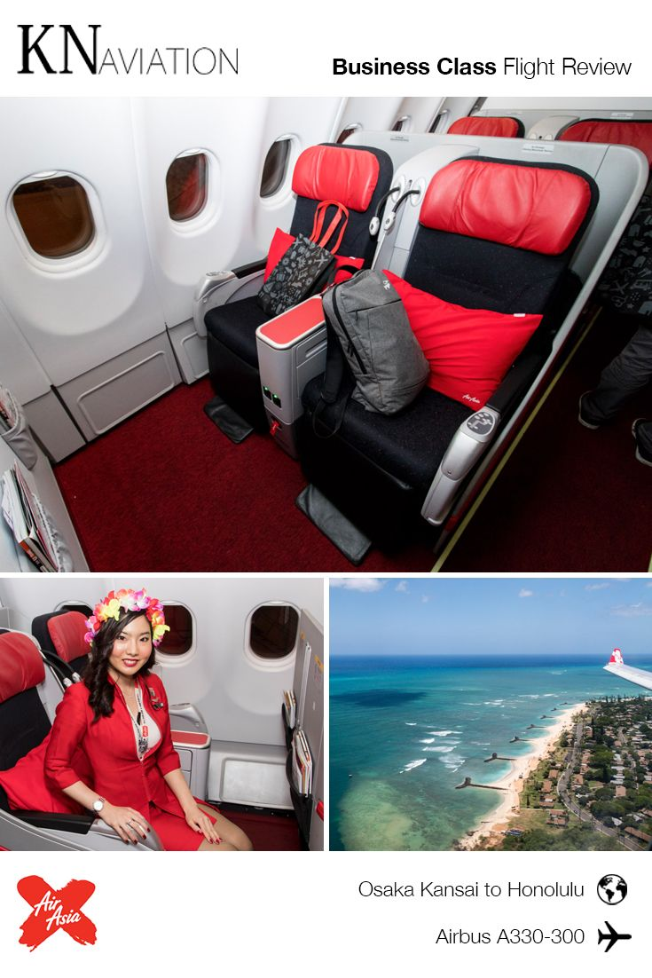 Airasia X Airbus A330 300 Business Class Review Malaysia Based Airasia X Offers Angle Flat Seats In It Business Class Business Class Flight Aircraft Interiors