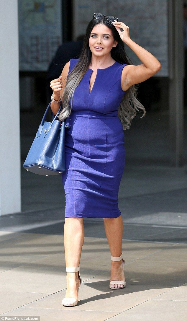 Looking great:Gogglebox favourite Scarlett Moffatt has certainly been working hard, showing off the results of her fitness and diet plan as she headed out in London on Tuesday