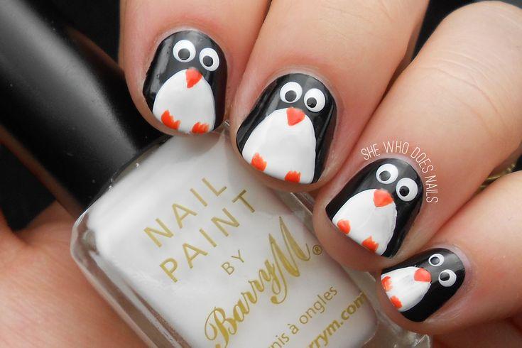 пингвин на ногтях - Поиск в Google