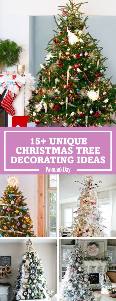 27 Christmas Tree Decorating Ideas That Will Light Up The Holidays