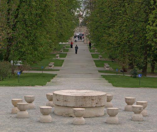 Table of Silence, Tg. Jiu, Romania