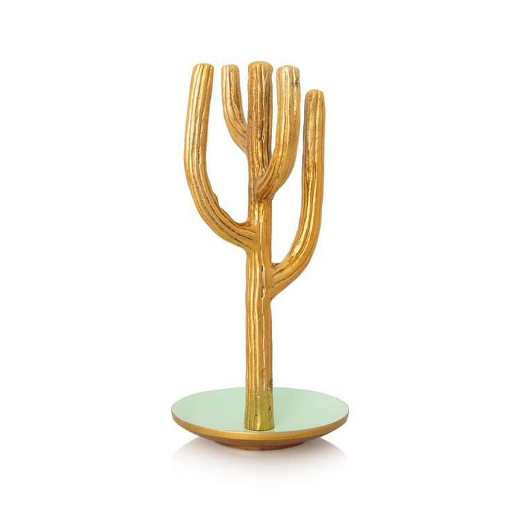 How fun is this cactus Jewellery Stand at Oliver Bonas? Bring the outdoors indoors.