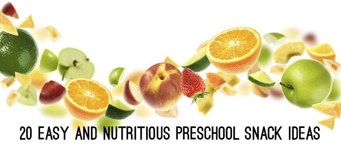 Keeping food choices interesting and healthy for your preschool child can be challenging.  While some preschools provide lunch for the children, a number of the preschools I have worked in require children to bring their own lunch and snacks for the