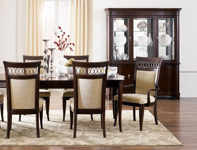 8 Best Images About Dining Room On Pinterest Cherries Dining Chair Set And