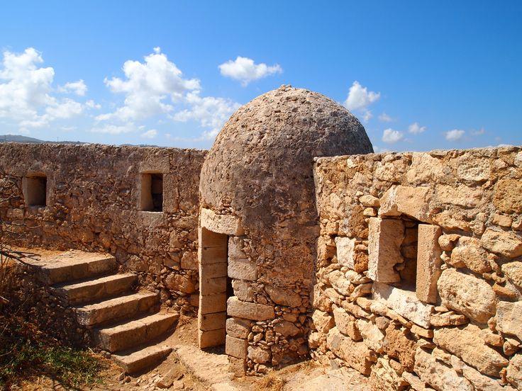 Rethymno (Rethymnon) fortress, Crete, Greece.