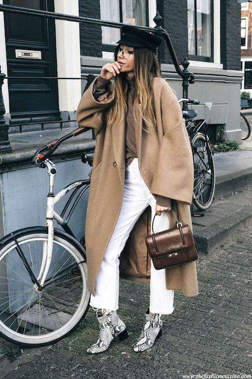 This Blogger Proves That Snakeskin Boots Are a Must Have