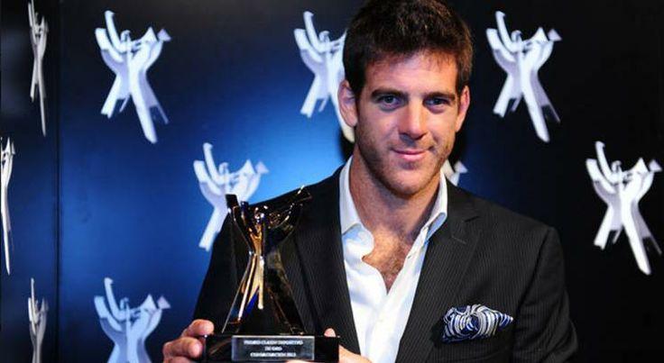 Juan Martin del Potro wins Clarin's sportsman of the year for 2013