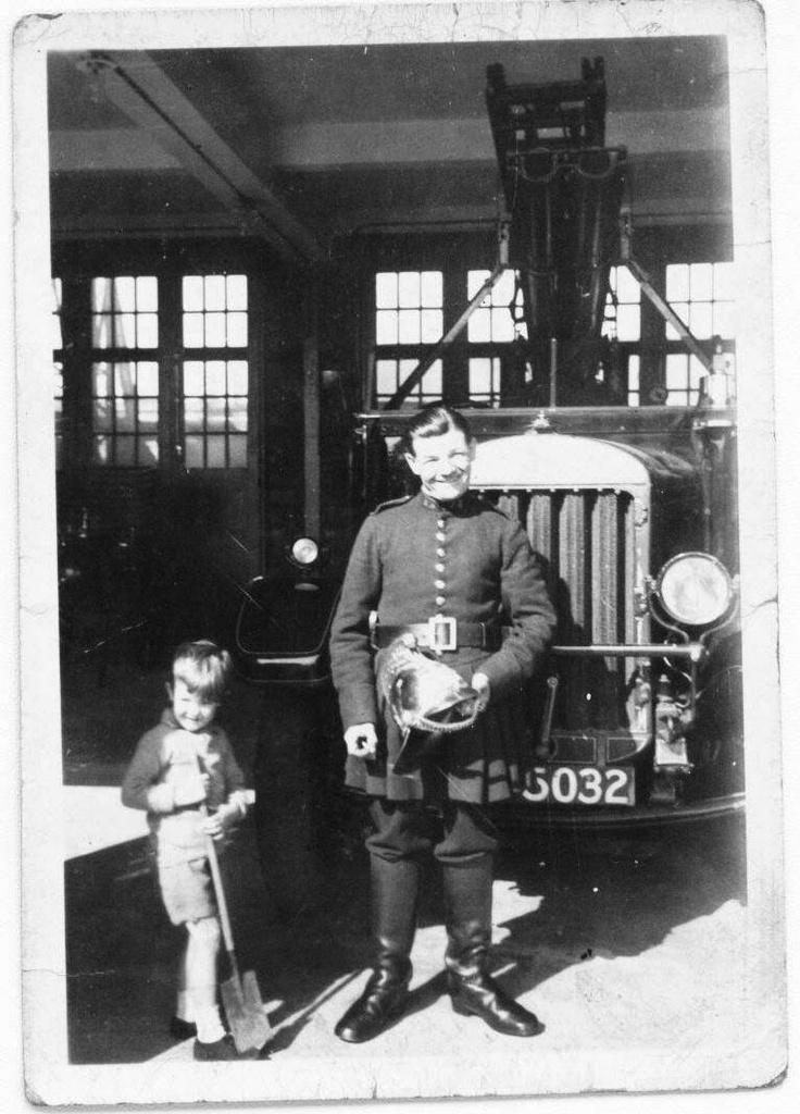 Jack Warner - Fireman - Catterick, England, 1938
