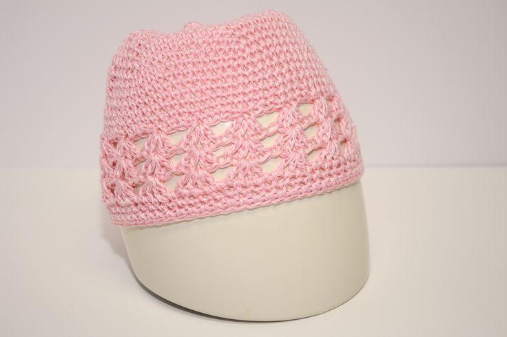Light Pink Knit Hat