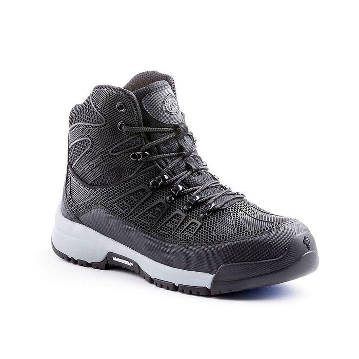 Dickies Banshee Men's Waterproof Steel Toe Boots, Size: medium (10.5), Grey