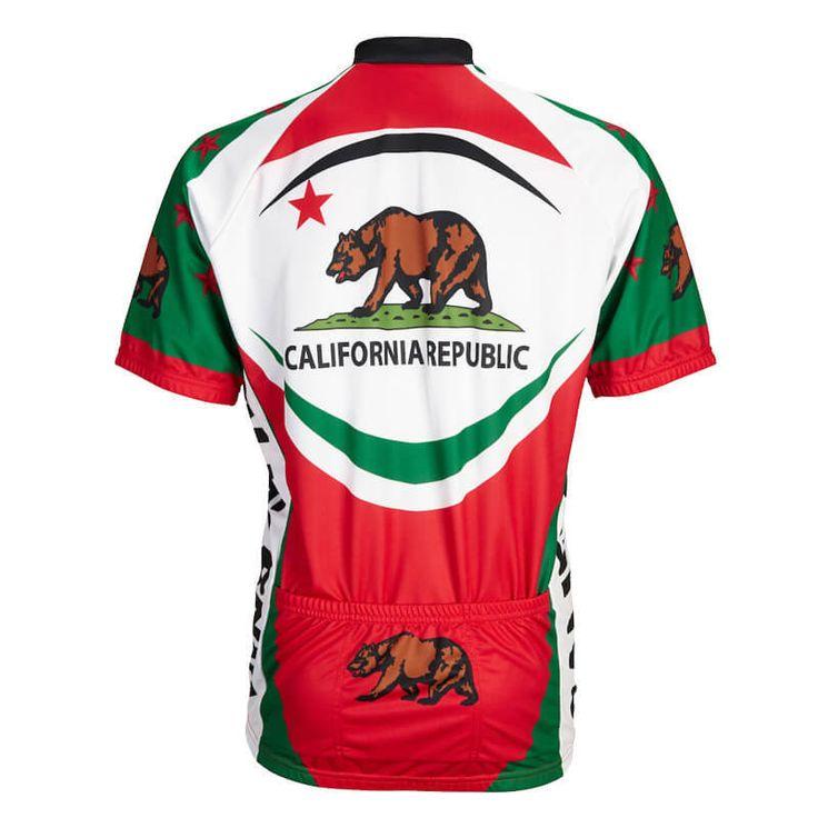 California Republic Men Cycling Jersey | Freestylecycling.com