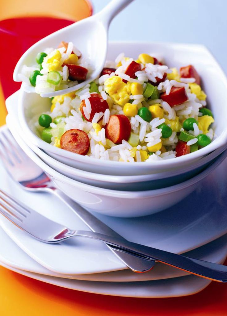 Furter Fried Rice - A great alternative to a take away!