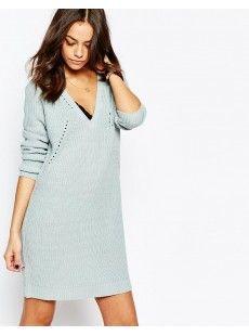 Платье-джемпер с V‑образным вырезом J.D.Y