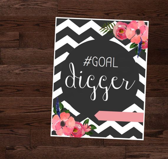 Goal Digger Binder Cover Planner Cover By