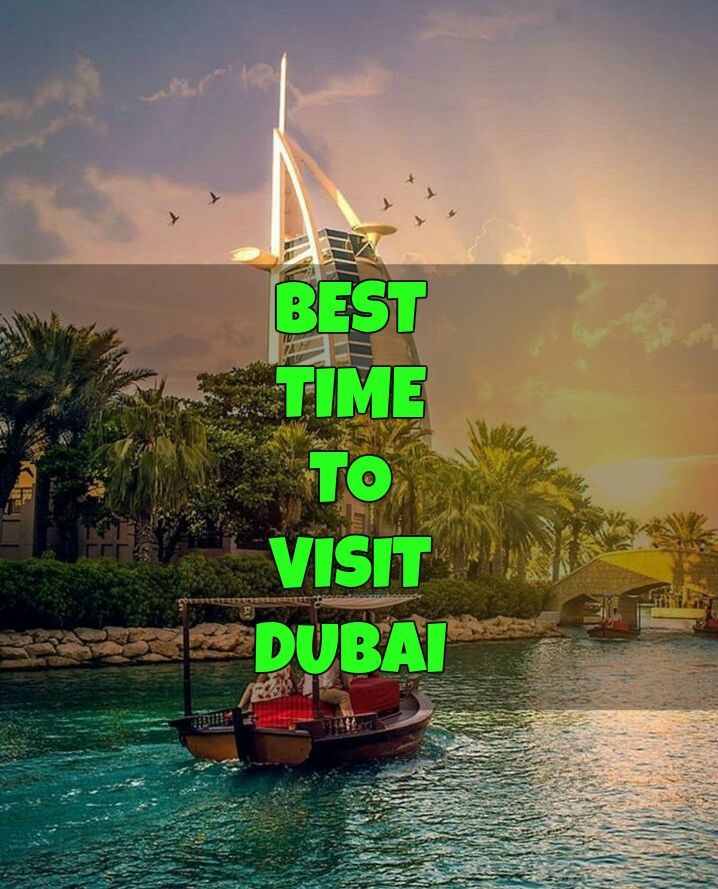 Not just because the main and decent events used to take place at that time, But there are more compelling reasons makes that time the best time to visit Dubai  #travel #dubai #holidays #bestime #vacation #visitdubai
