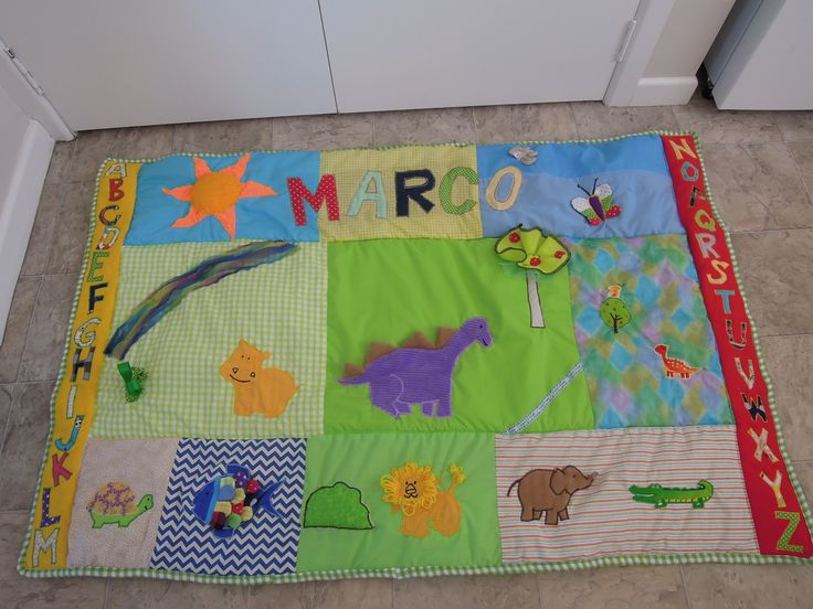 A playmat for my friend's baby