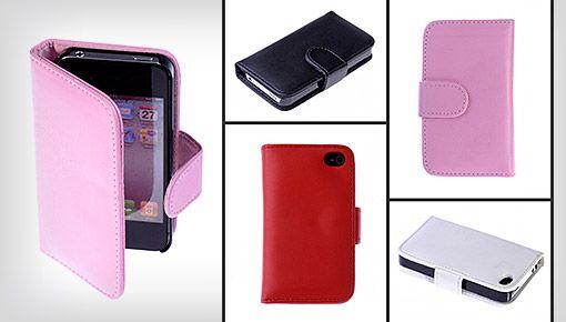 iPhone-fodral utformat som en plånbok