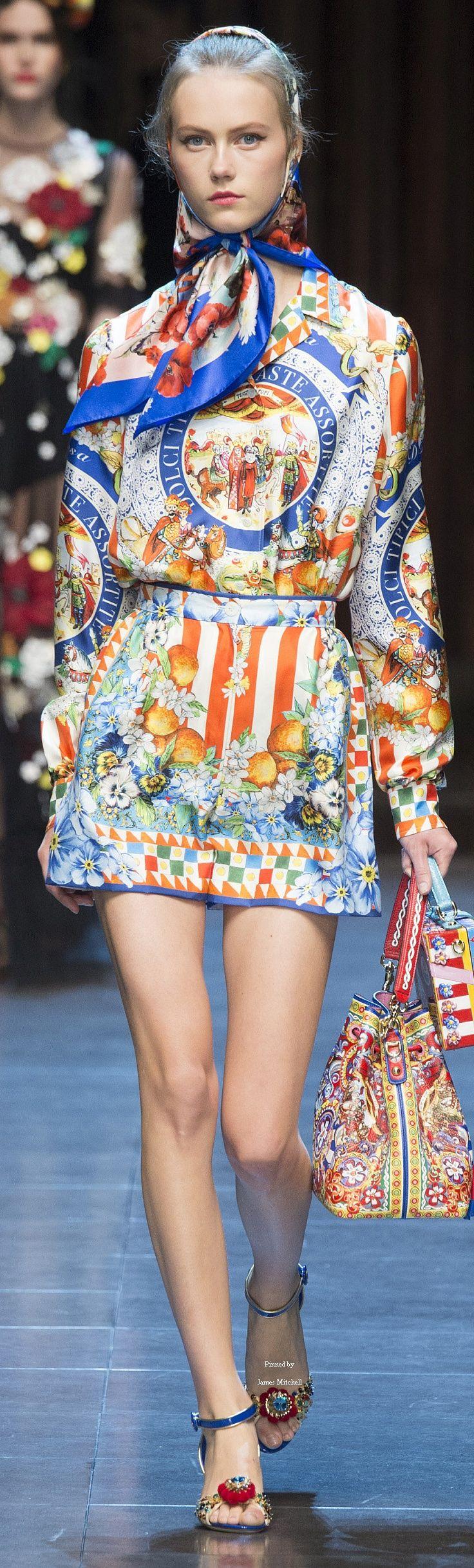 Dolce & Gabbana Collection Spring 2016 Ready-to-Wear KOONN MODULAR CONCEPT WWW.KOONN.COM