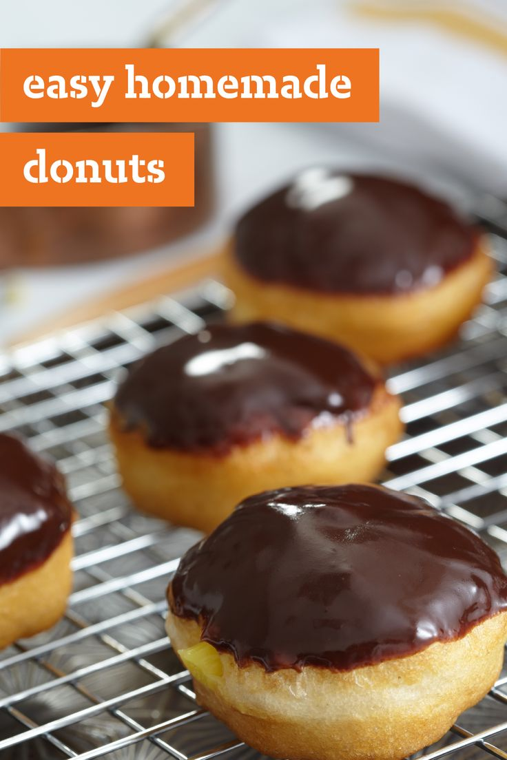 Easy Homemade Donuts – What's better than donuts? A recipe for Easy Homemade Donuts! Try your hand at this homemade morning recipe to enjoy your favorite breakfast treat at home.