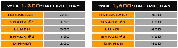 ile kalorii w posiłku