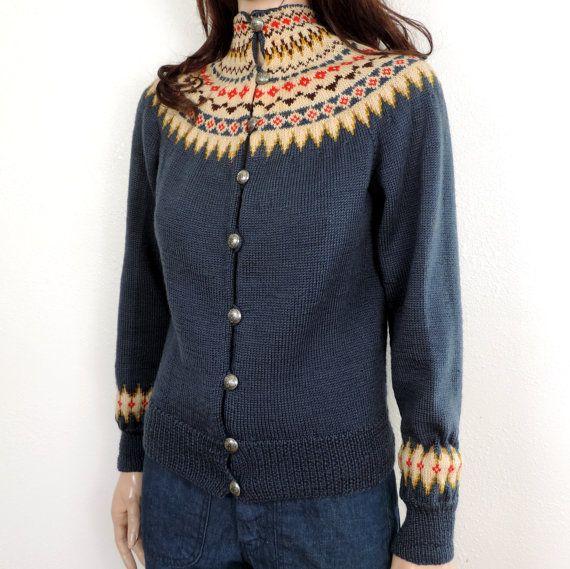 60s Norwegian Vintage Sweater 1960s William by poetryforjane, $30.00