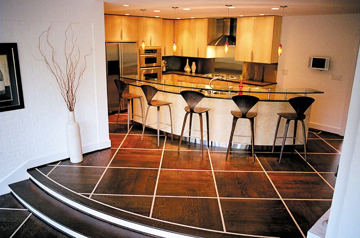 Dark Stained Rift Sawn White Oak Kitchen