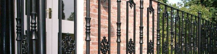 Balcony railings vary significantly in design, from very straightforward plain railings to the more ornate cast iron railings, and anywhere in between.
