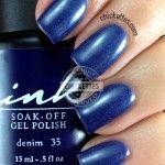 Glam and Glits Ink Gel Polish Denim #35 Swatch