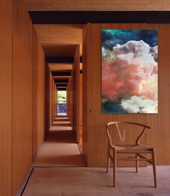 cloud print. Michael Chase