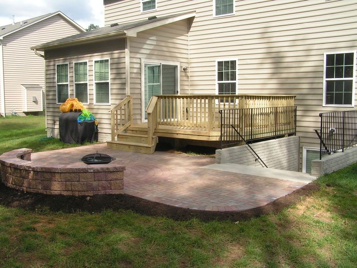 ... Patio And Deck Combo Ideas By 17 Best Ideas About Deck Builders On  Pinterest Mtg Decks ...