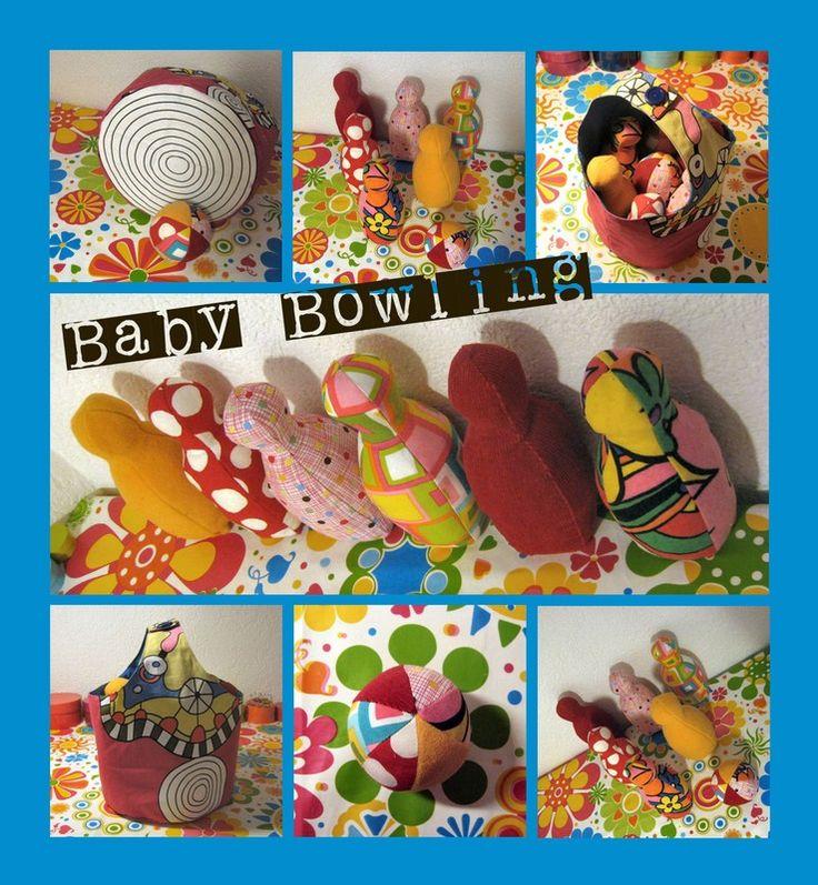 Tuto couture : Jeu de bowling... enfin jeu de quilles pour bébé quoi - En direct de la fabrique de crevettes