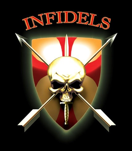 Infidels....I'M ONE AND PROUD OF IT.....I'M A PROUD AMERICA TOO......I LOVE PORK TOO...AND I HATE MUSLIMS TOO....GET IT NOW?