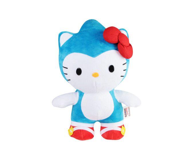 "Sonic the Hedgehog x Sanrio Hello Kitty 10"" Plush: Sonic"
