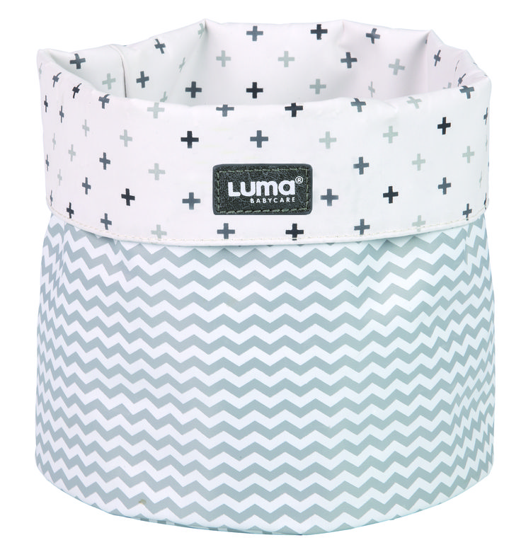 CESTA DE BAÑO MIXED WHITE #LUMA
