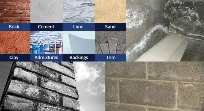 Efflorescence Stands For A Fine White Or Greyish Powdery Deposit Of Water Soluble Salts That Is Present On Brick Concrete Stone Stu Concrete Brick Masonry
