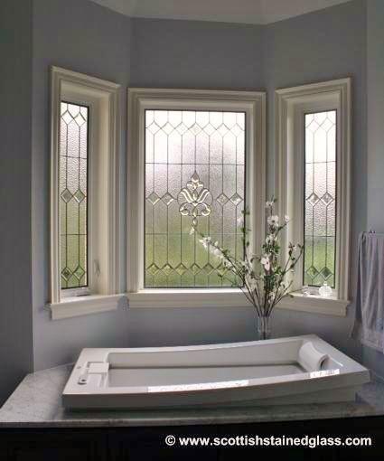 Beautiful Bathroom Stained Glass Windows Kansas City