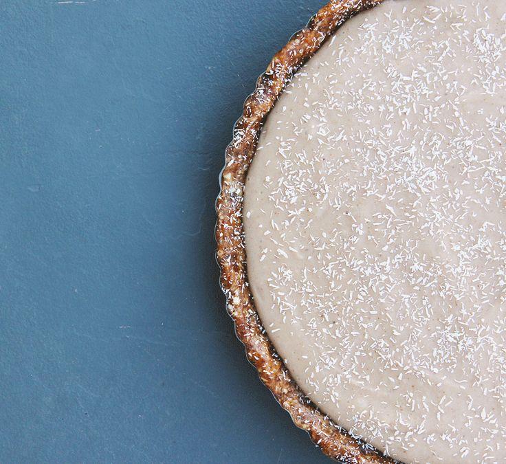banana & coconut cream pie