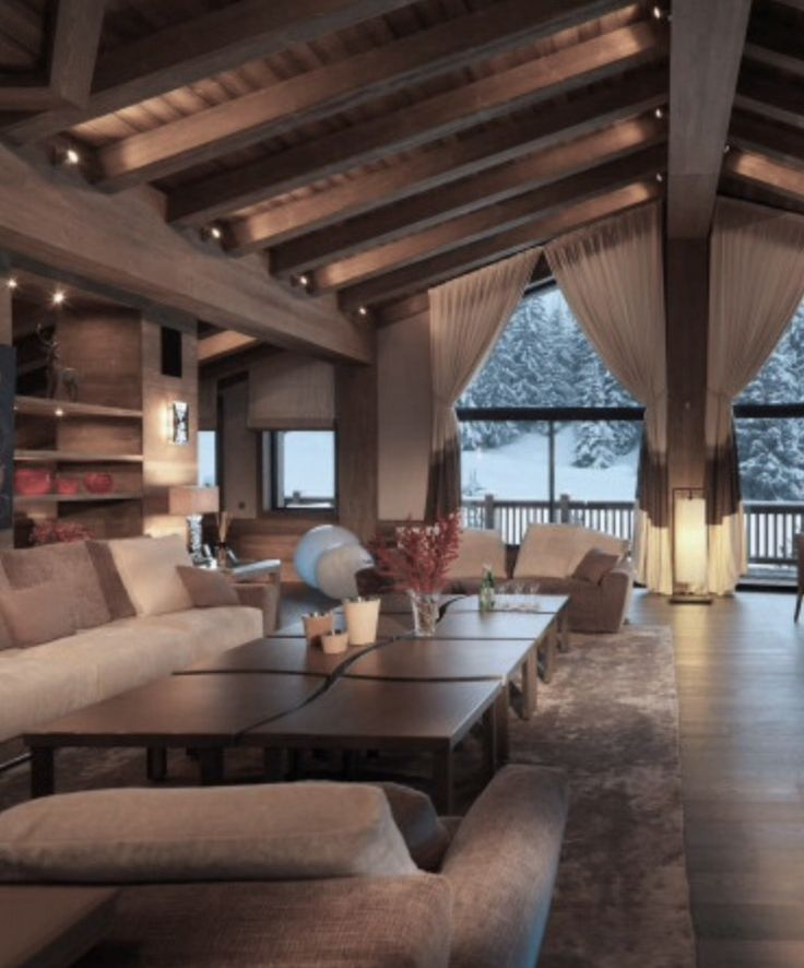 Superior The Luxurious Chalet La Bergerie With Its Unforgettable Beauty And  Originality, Is Placed In The Famous French Ski Resort Courchevel, At The  Height Of