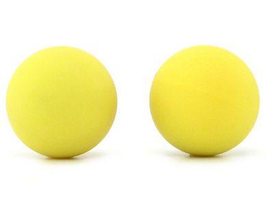 Confetti SB1 Silicone Balls - Neon Yellow Funtimes209