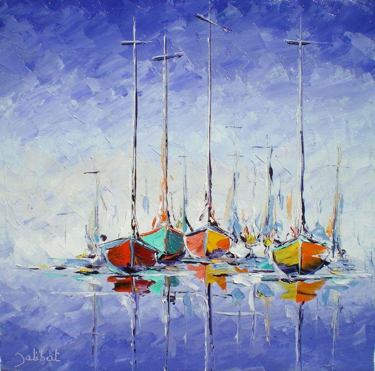 K ptal lat a k vetkez re peindre une marine au couteau for Peindre une armoire en pin