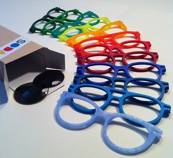 A company named Soda Concept, with the use of 3D printing, wants to allow anyone to totally customize their shades. And if you want more than one pair, it won't cost you a ton of money. You can simply pop the lenses out and put them into a new set of Soda Concept frames.
