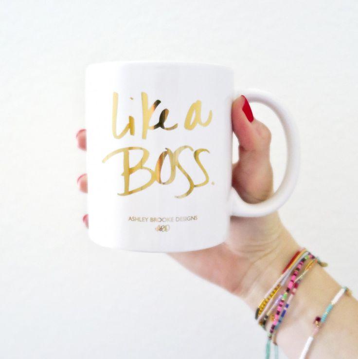 {New in Shop!} Like A Boss Coffee Mug | ABD
