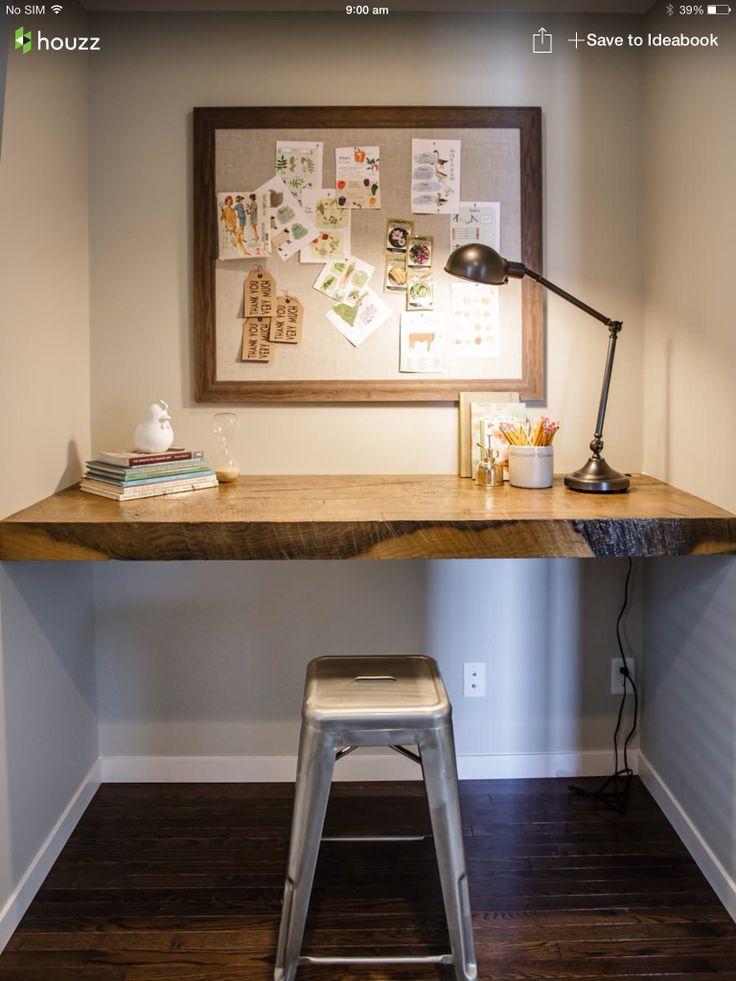 25 best floating desk ideas on pinterest industrial. Black Bedroom Furniture Sets. Home Design Ideas