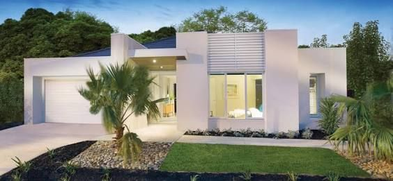 contemporary single story house facades australia - Recherche Google
