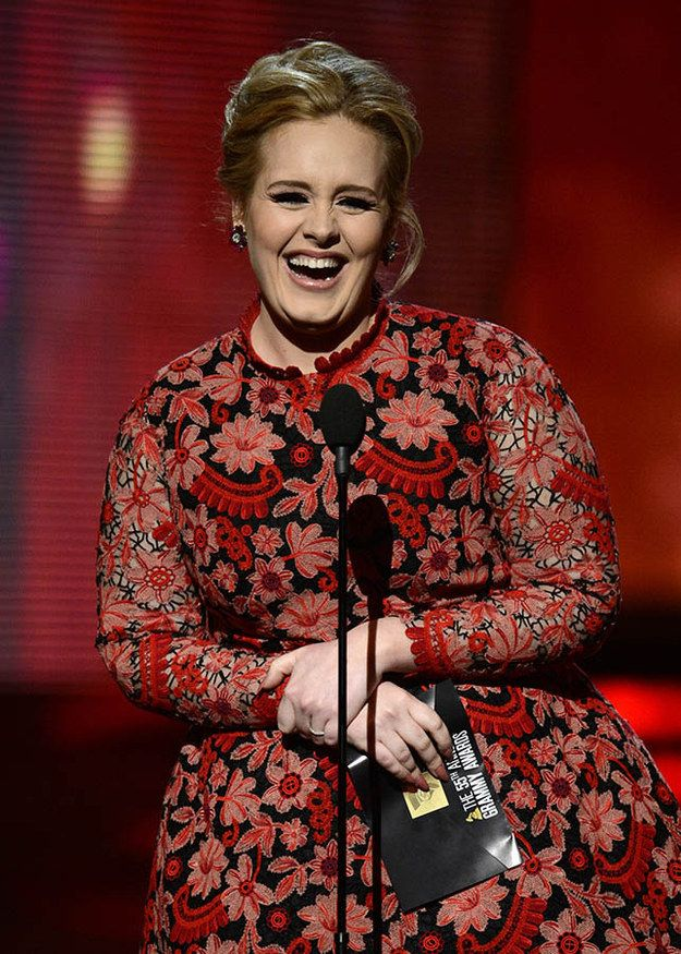 Adele   Pictures Of Smiles Taken At Just The Right Moment