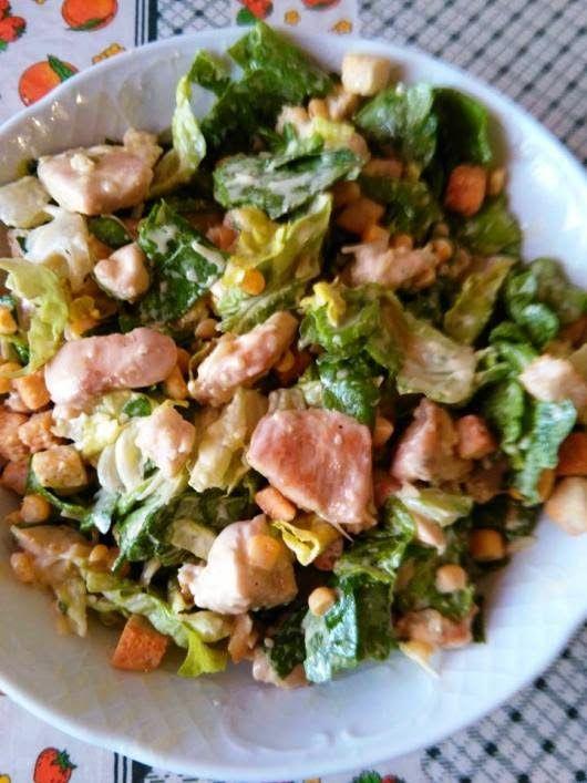 H μάνα του ... λόχου: Σαλάτα του Καίσαρα (Caesar salad)