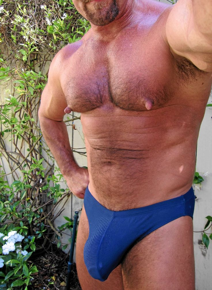Big muscle bear cock what