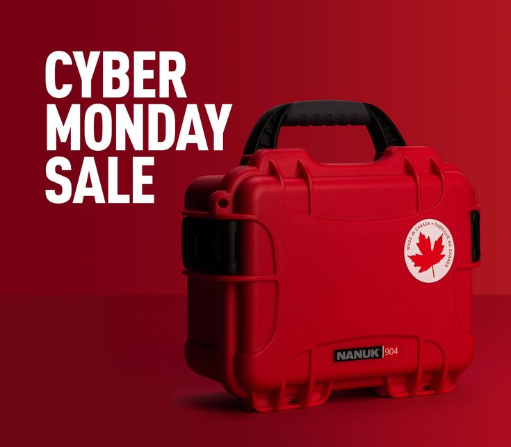 It's Cyber Monday At HardCases.ca 🔥The Sale Continues With