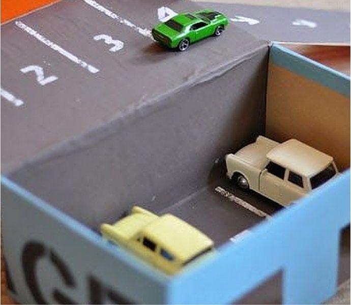 3 idee furbe per trasformare in gioco una scatola di scarpe