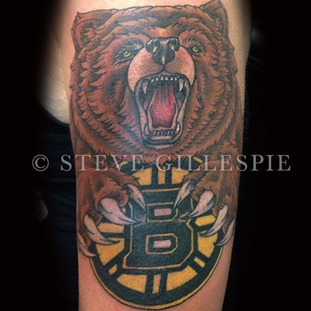 40 best boston bruins bear tattoo designs for men images on pinterest bear tattoos boston. Black Bedroom Furniture Sets. Home Design Ideas